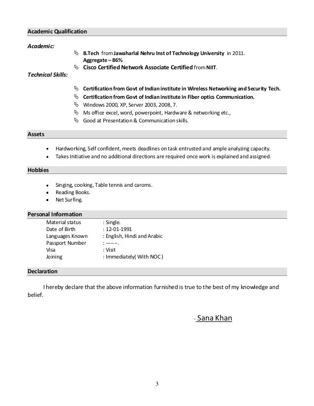 Resume for experienced bpo employee are present