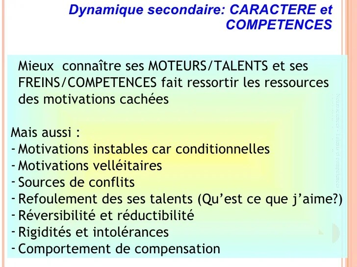 talents et competences cv