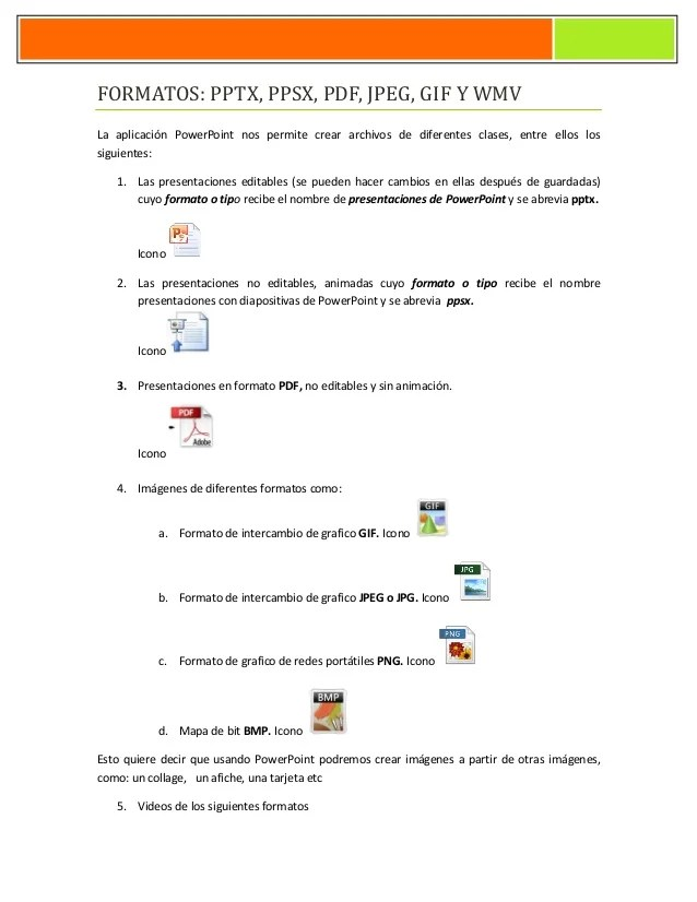 convertir cv power point en pdf