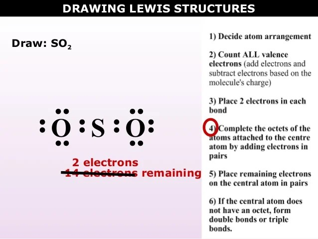 So2 Lewis Dot Structure wwwpicswe