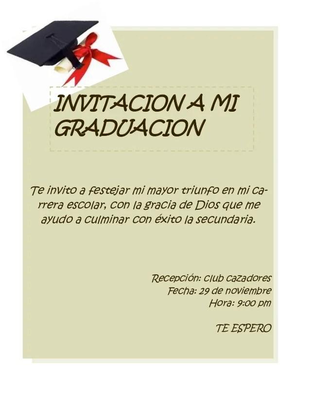 tarjeta de graduacion - Acurlunamedia