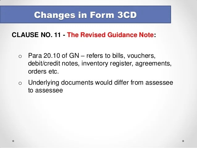 Tax Credits Getting Your Claim Form Right Tc600 Notes Tax Audit Changes In Form 3cd August 2014