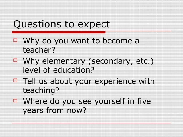 why do you want to teach - Towerssconstruction