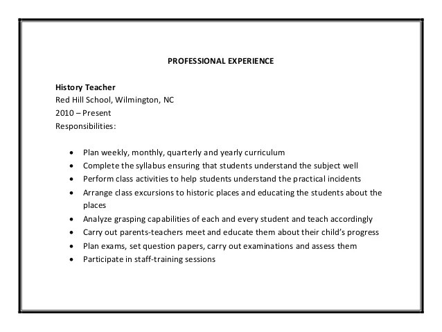 student teacher resume samples - Josemulinohouse