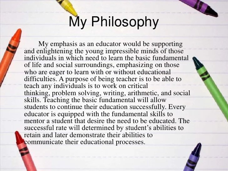 Teaching Philosophy Examples Thoughtco Teaching Philosophy