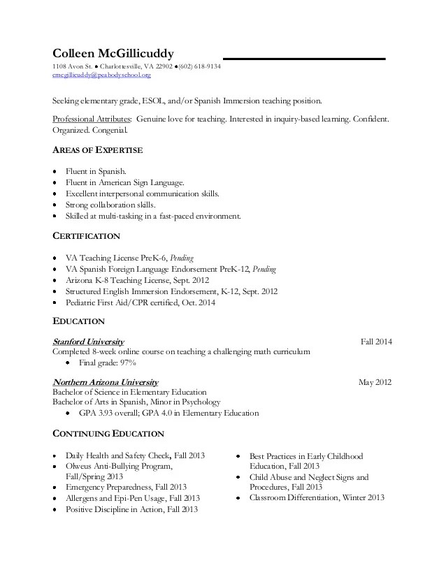 resume first time preschool teacher teacher resumes best sample resume teacher resume examples first time - First Time Teacher Resume