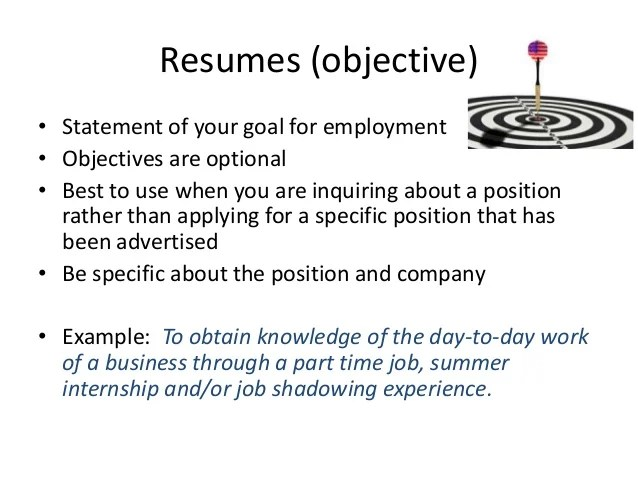 resume templates for summer