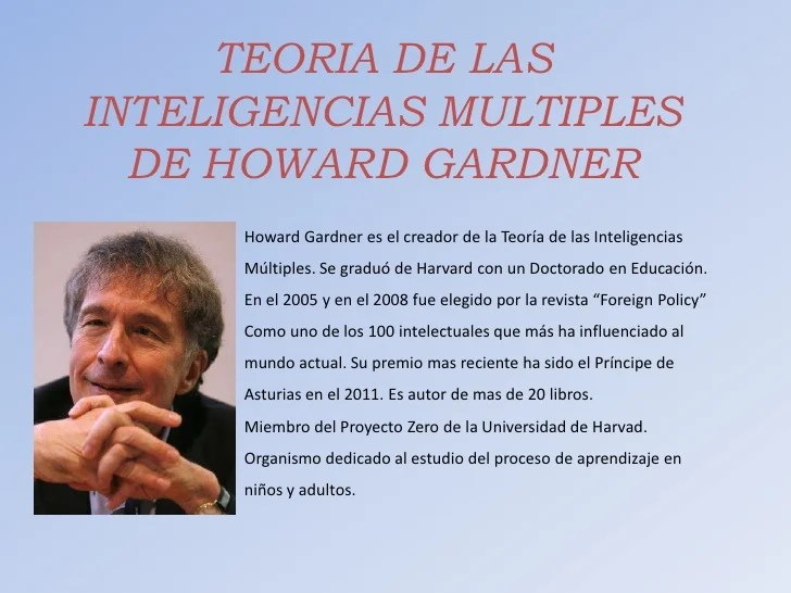 Libro Dmt Teoria De Las Inteligencias Multiples De Howard Gardner