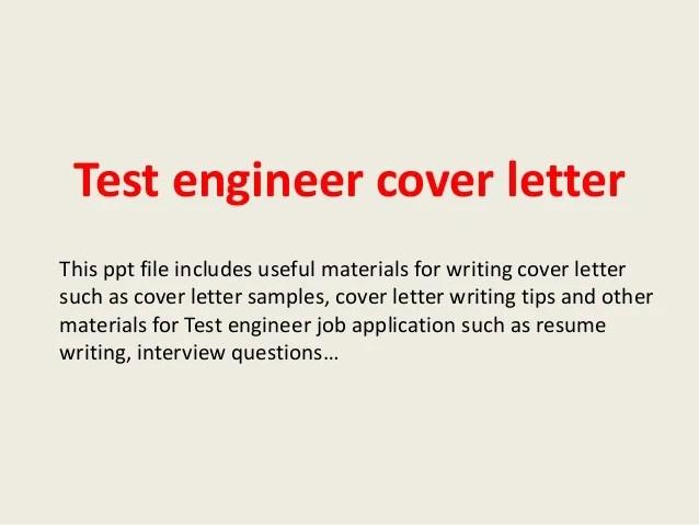 Cover Letter Quality Engineer - Erieairfair