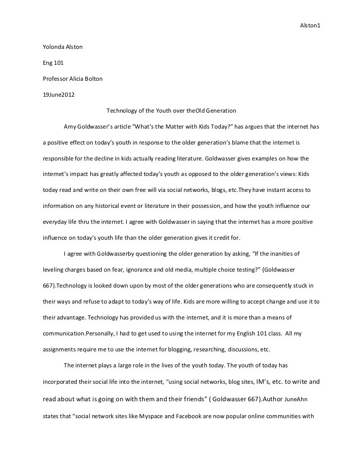 example textual analysis essay