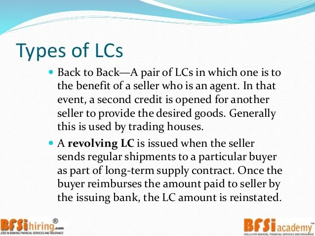 Acceptance Period Calculation Best Trade Solution Trade Finance Letter Of Credit