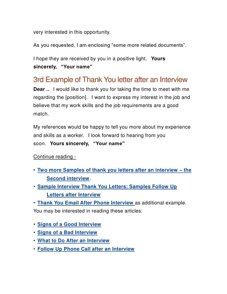 Thank You Letter For Interview But Not Interested Cv Resumes Maker