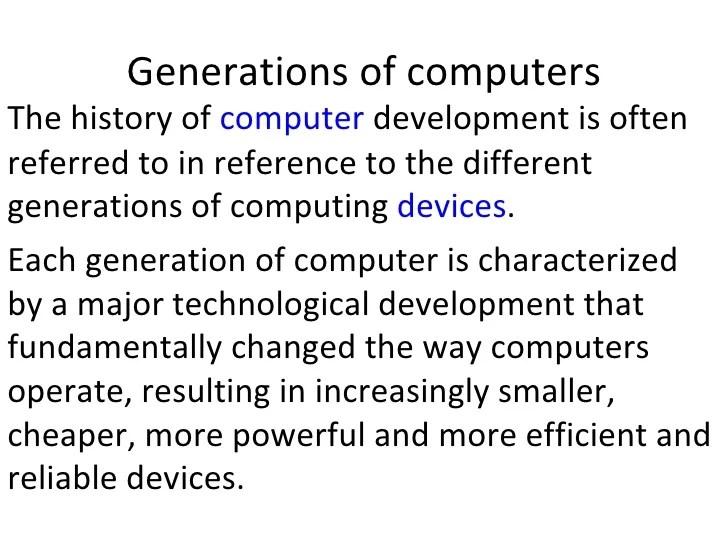 the history of computers essay - Josemulinohouse - history of computers essay
