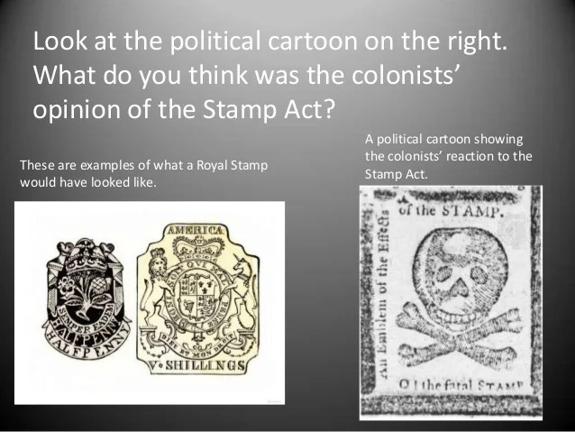 stamp act effects