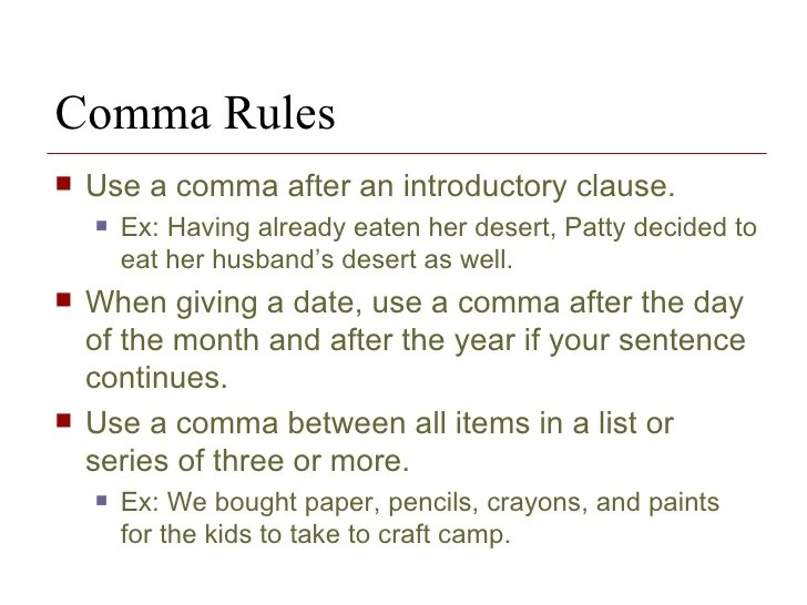 The Basics Punctuation Capitalization And Numbers In