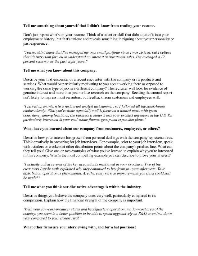 resume answers - Acurlunamedia - resume answers