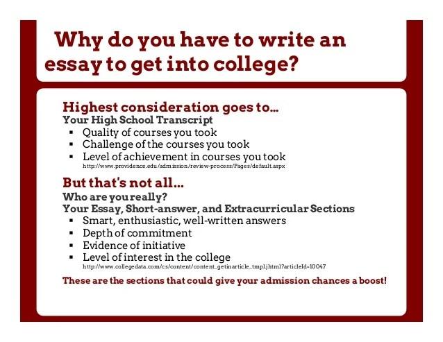 Common College Essay
