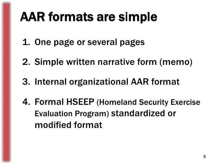 after action report format - Alannoscrapleftbehind