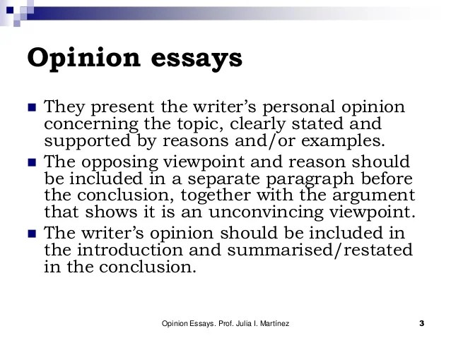 Opposing viewpoint essay topics