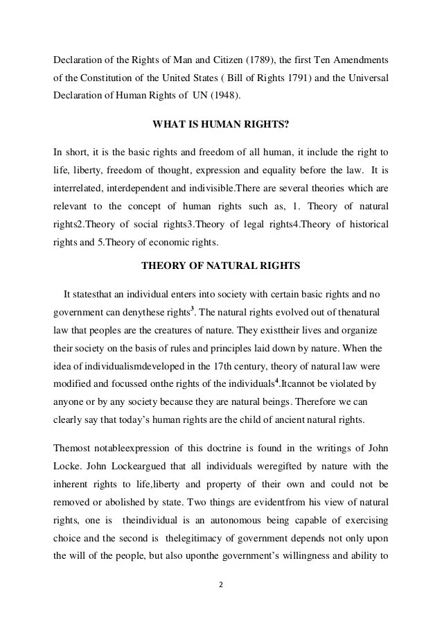 essay about human rights - Trisamoorddiner