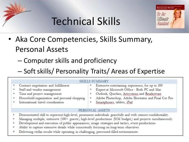 key skills and competencies on cv - Vatozatozdevelopment