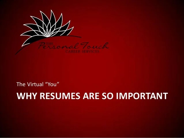 4 Common Resume Myths 4 Resume Myths You Need To Stop Believing Medium The Personal Assistant Resume Slides From Recorded Webinar