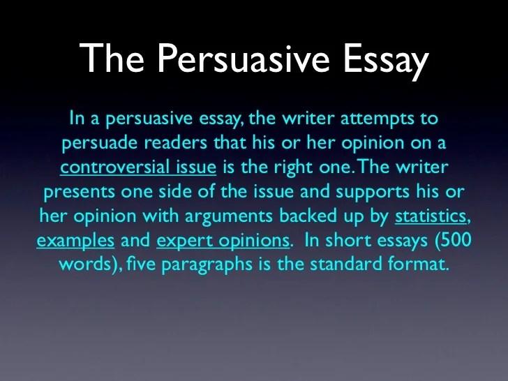 example short essays