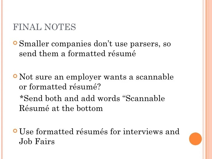 scannable resume format - Goalgoodwinmetals