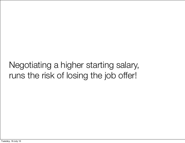 negotiate job offer salary - Intoanysearch - negotiating job offers