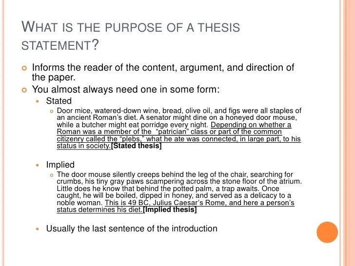 thesis statements for essays what is thesis statement in essay