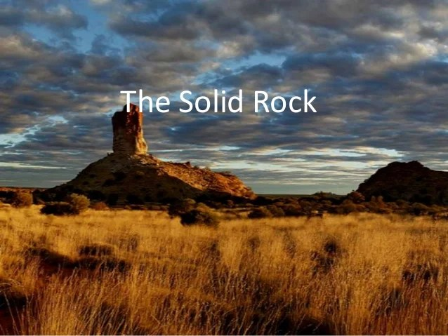 Panoramic Wallpaper Fall The Solid Rock
