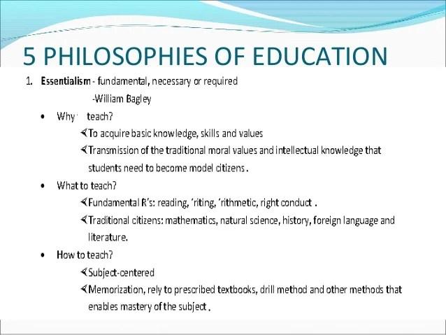 Sample Teaching Philosophies Qatar University The Teaching Profession Gda