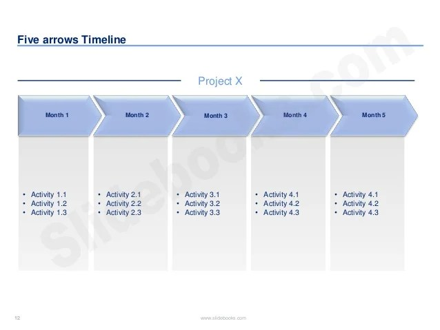 calendar timeline powerpoint - Goalgoodwinmetals