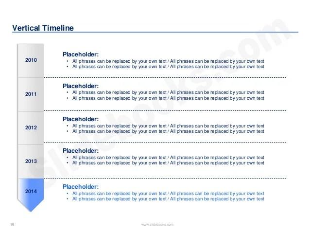 vertical timeline powerpoint - Pinarkubkireklamowe