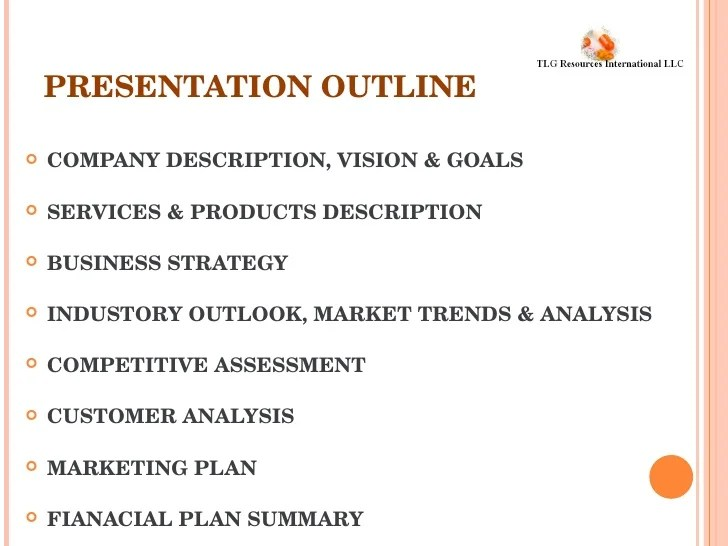 Business Plan Wikipedia Tlg Business Plan Presentation
