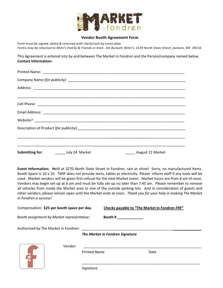 vendor contract template - Towerssconstruction