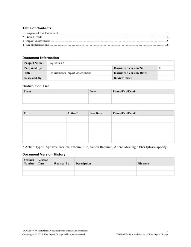 Project Assessment Template  Resume Format For Quality Manager