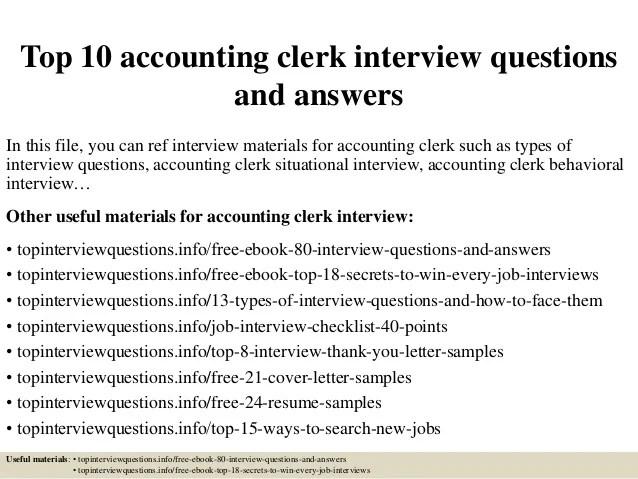 accounting clerk responsibilities - Onwebioinnovate - accounting clerk job description
