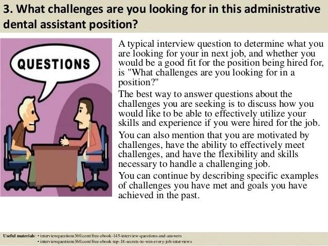 dental assistant job interview questions - Acurlunamedia - interview questions for a dental assistant