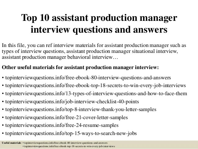 hr assistant interview questions and answers