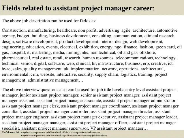 Project Manager Job Description - sarahepps -