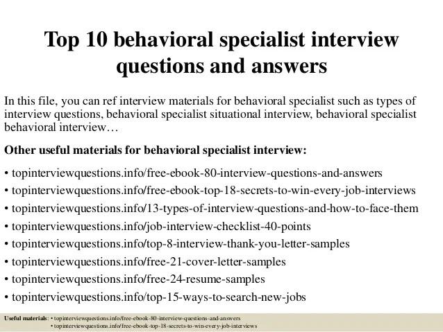 sample behavioral interviewing questions - Towerssconstruction