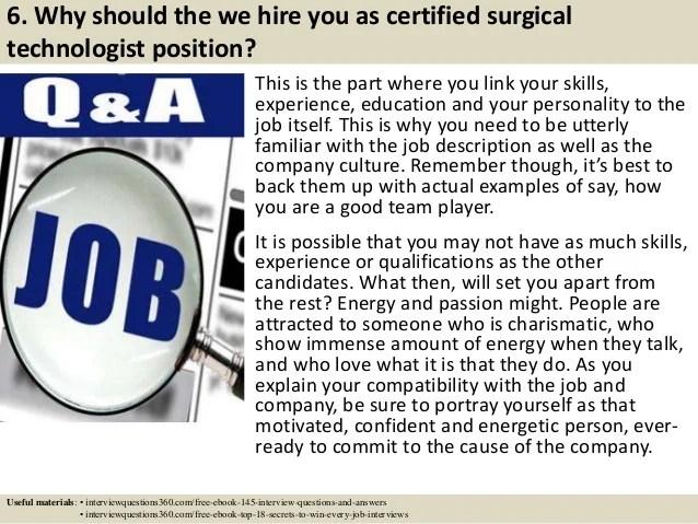 certified surgical technologist job description - Boatjeremyeaton