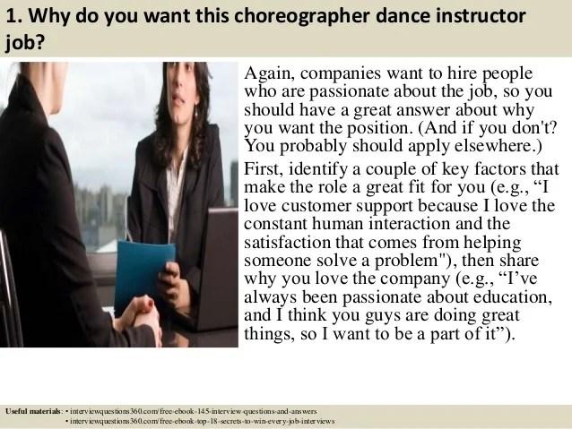 dance instructor job description - Romeolandinez