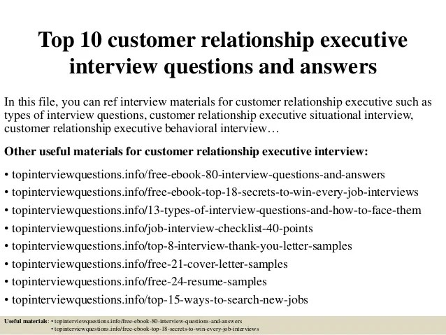 relationship interview questions and answers - zrom