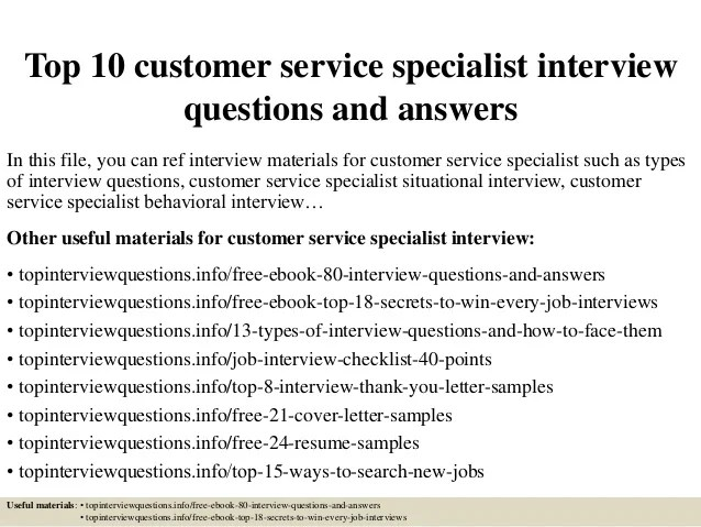customer service interview tips - Onwebioinnovate - sales advisor interview questions