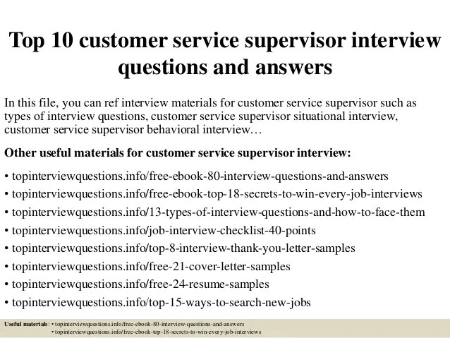 best interview answers for customer service - Selol-ink - Best Interview Answers