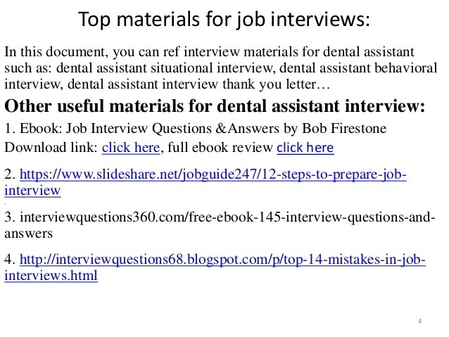 dental assistant questions and answers - Kordurmoorddiner