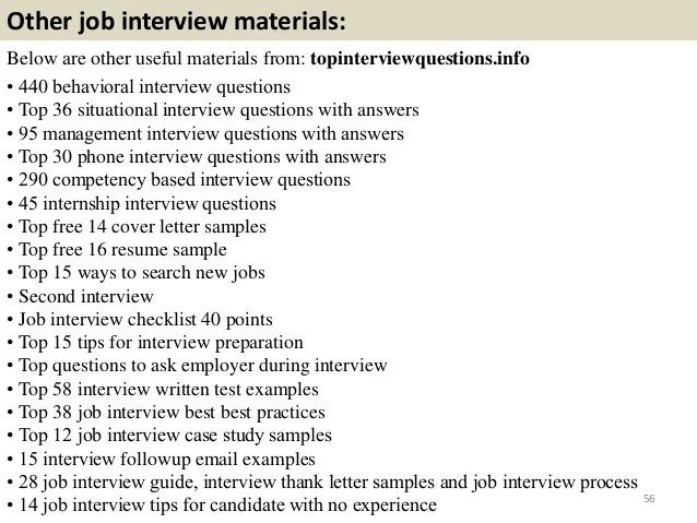 professional interview questions - Onwebioinnovate