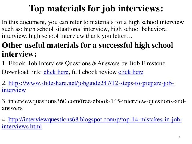 interview questions and answers for school counselors - Maggi